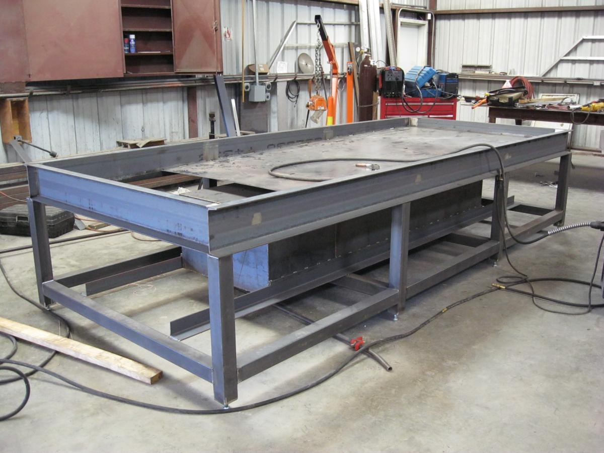 5 X 12 Cnc Plasma Table